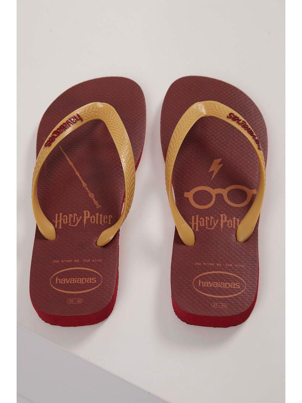 38965f12f Chinelo Havaianas Top Harry Potter Vermelho - pittol