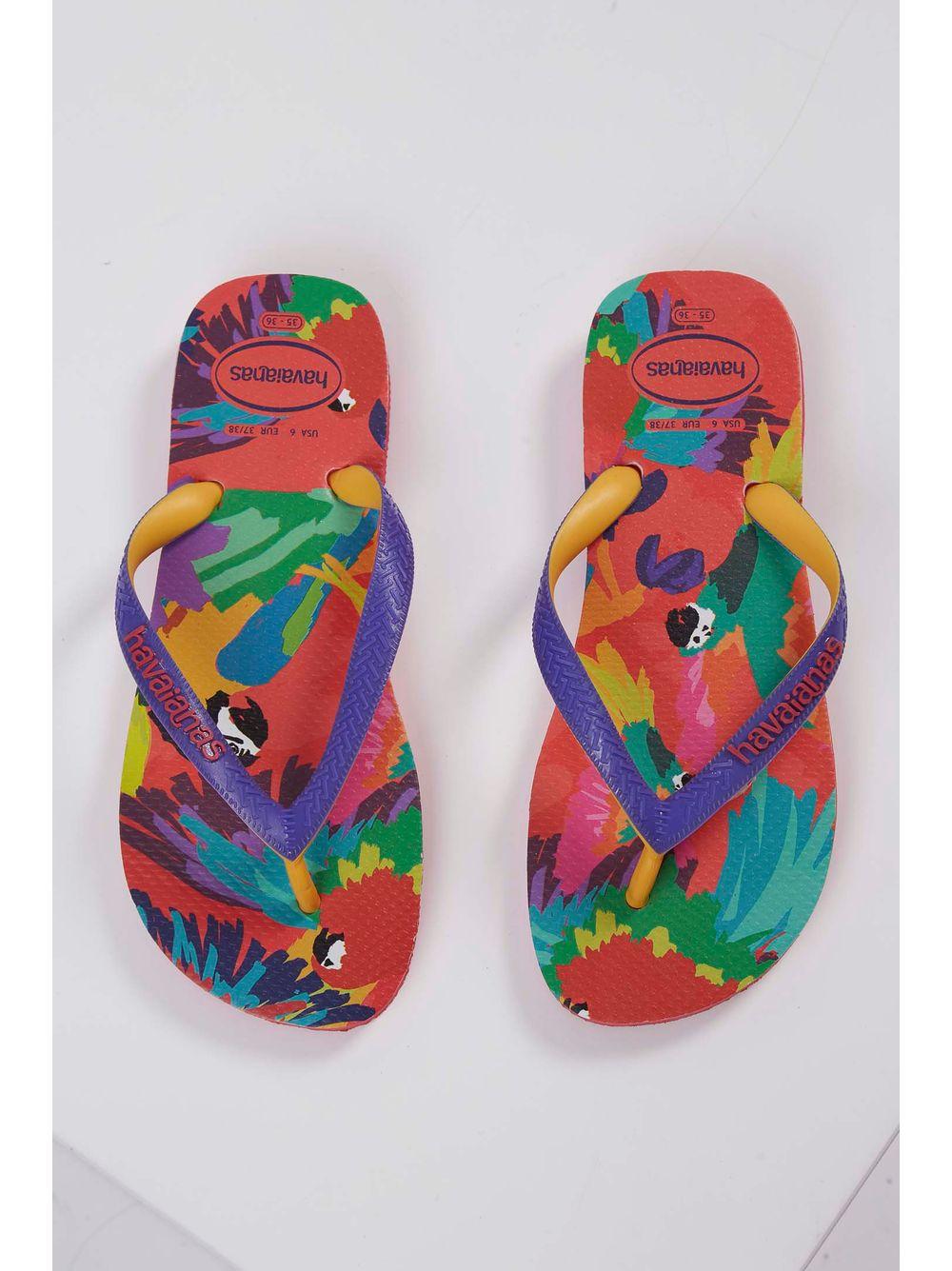 19d116012 Chinelo Havaianas Top Fashion Multicolorido - pittol
