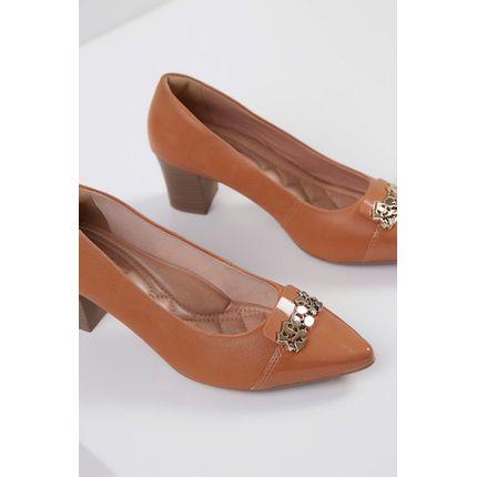 Sapato-Scarpin-Comfortflex-Caramelo-