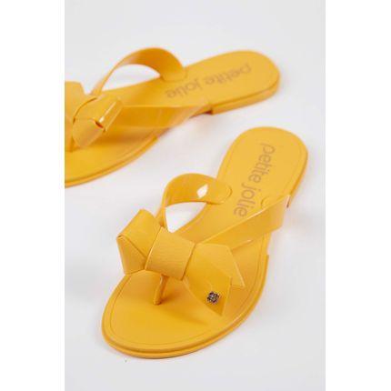 Chinelo-Rasteira-Petite-Jolie-Amarelo-