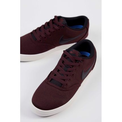 Tenis-Nike-Sb-Check-Solarsoft-Canvas-Premium-Bordo-