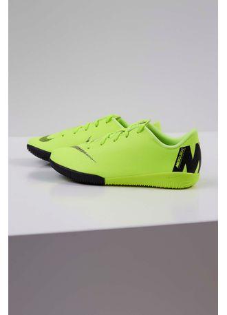 e40a51b54 Tênis Infantil Nike Futsal Vapor Academy Verde - pittol