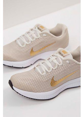 Tenis-Nike-Runallday-Textorizado-Feminino-Bege-