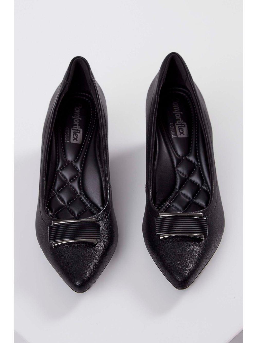 f38d4a88f Previous. Sapato-Scarpin-Comfortflex-Preto ...
