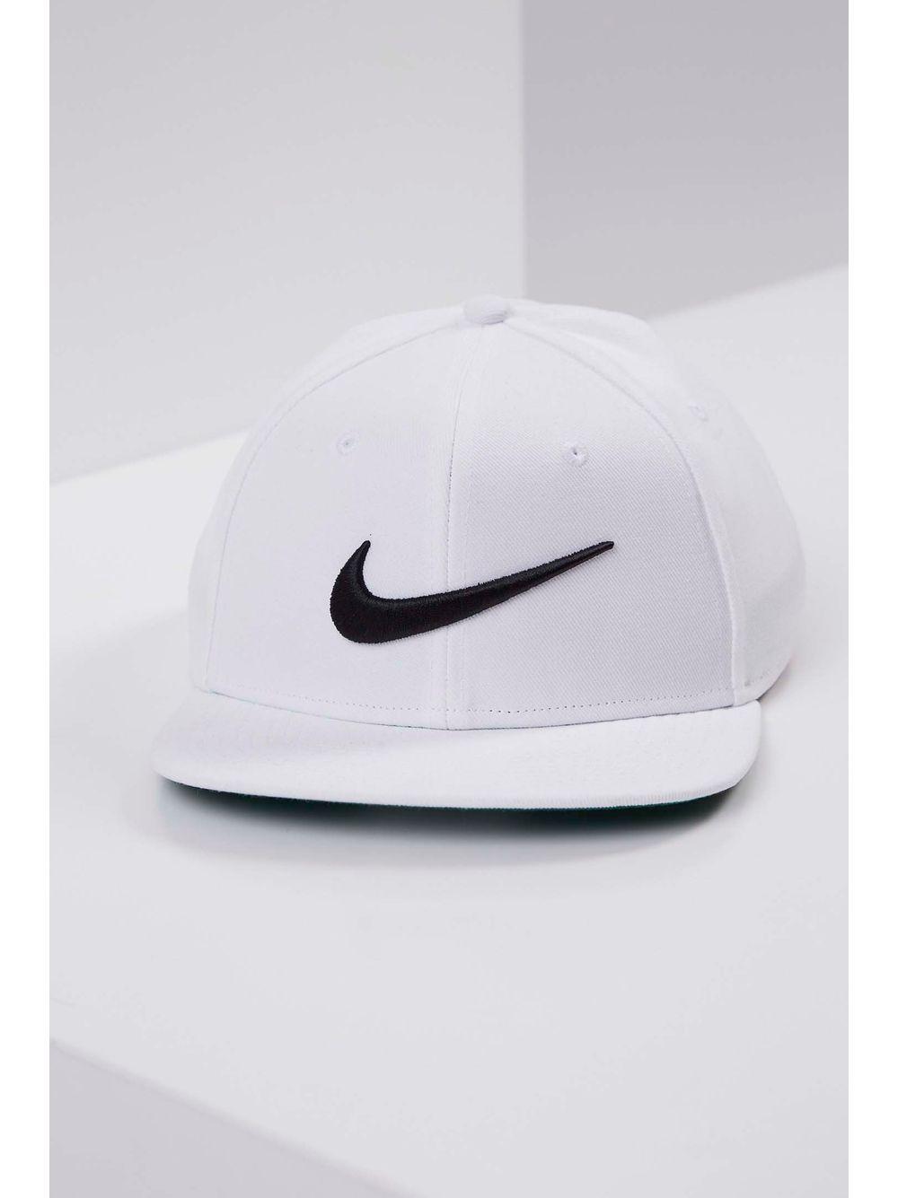 Boné Nike Sportswear Pro Swoosh Classic Hat Branco - pittol 4b00fd4910d15
