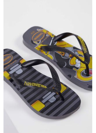 430b98fcf Chinelo Havaianas Simpsons Cinza - pittol
