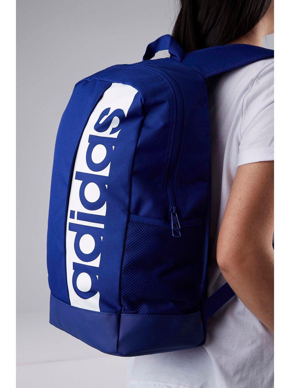 Mochila Esportiva Adidas Lin Per Bp Azul - pittol 03300e83a17a0