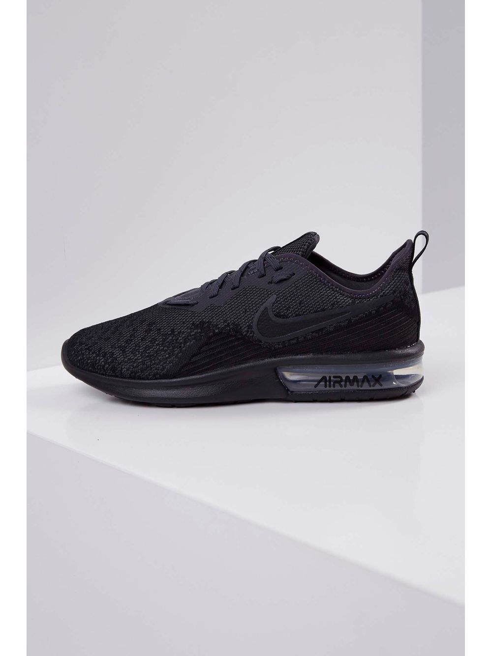 45e30913ff5 Tênis Nike Air Max Sequent 4 Preto - pittol