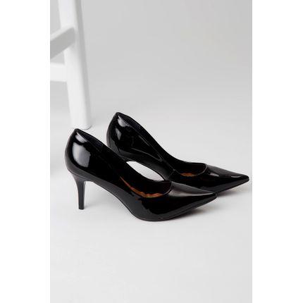 Sapato-Bebece-Verniz-Salto-Medio-Bico-Fino-Preto-