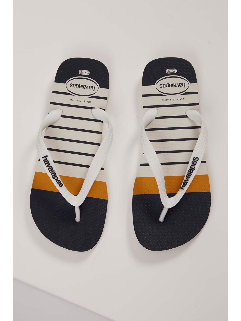 80ce4bc741 Chinelo Havaianas Top Nautical Branco - pittol