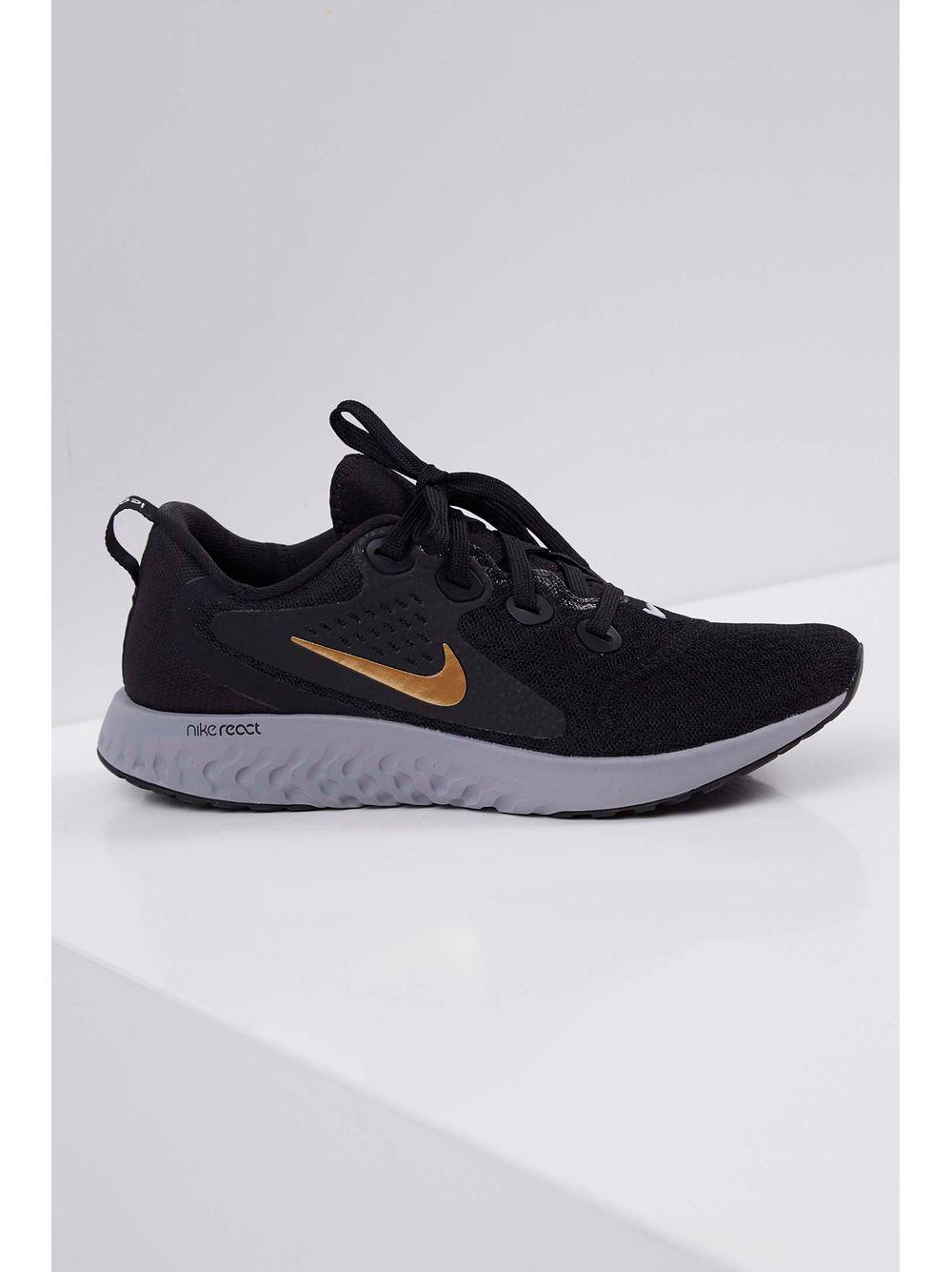 Tênis Nike Rebel React Feminino Preto - pittol 2821bcd9560c2