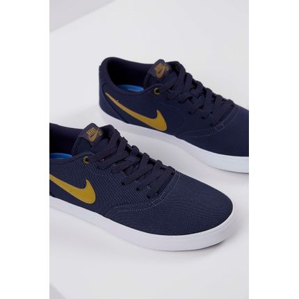 Tenis-Nike-Sb-Check-Solarsoft-Canvas-Marinho-