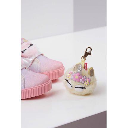 Tenis-Casual-Infantil-Luna-Pampili-Velcro-Rosa-