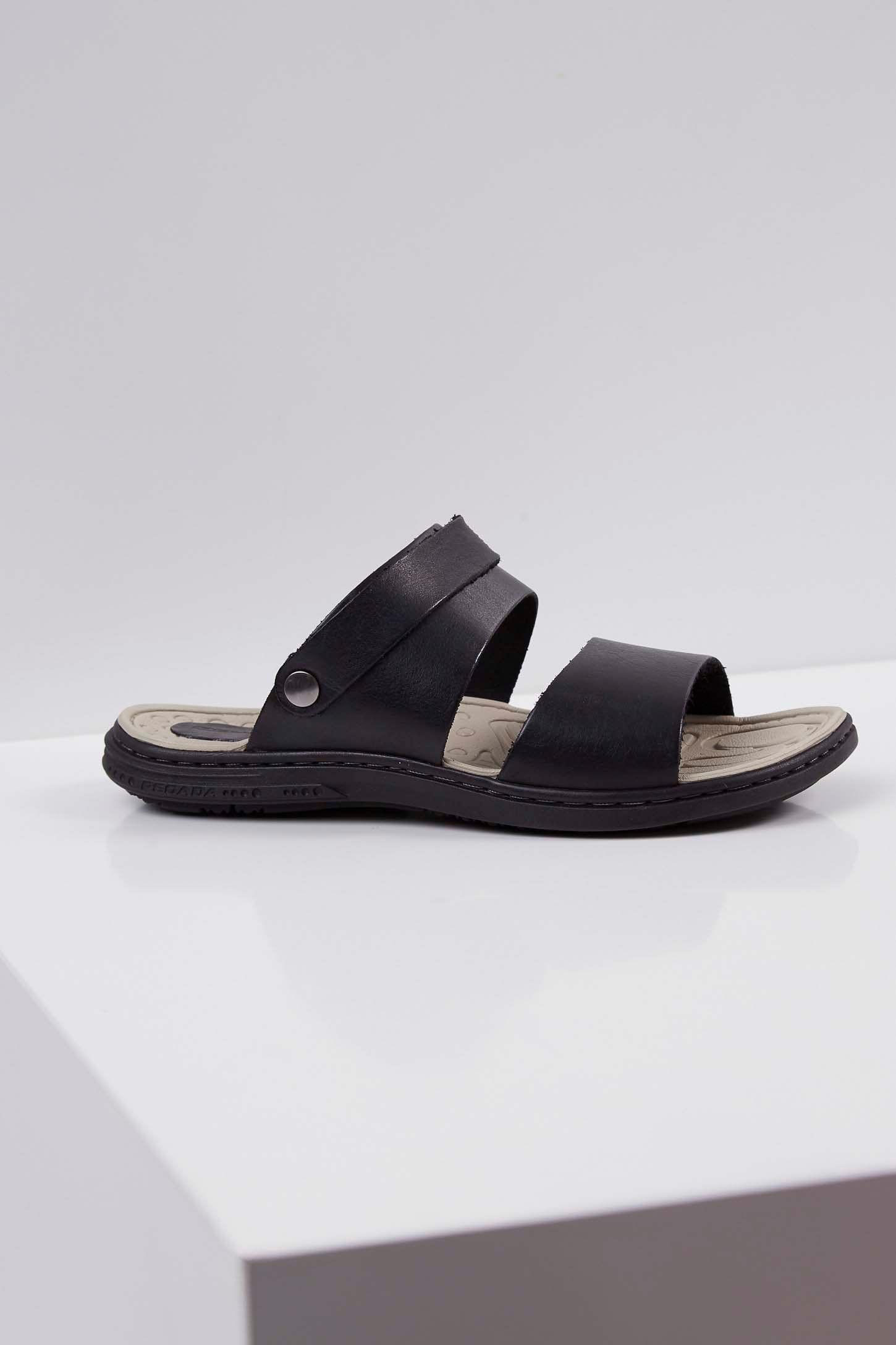 Sandalia-Chinelo-Masculino-Tradicional-Pegada-Preto-
