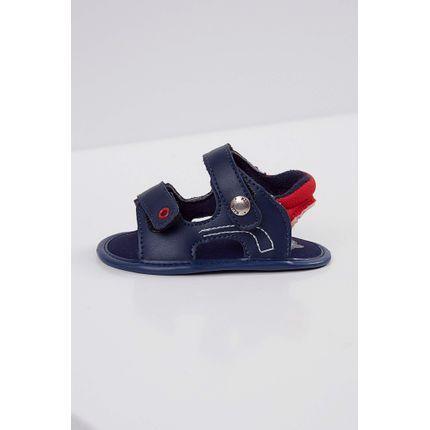 Sandalia-Infantil-Klin-Velcro-Marinho-