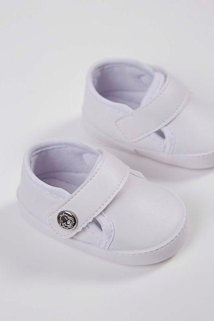 Tenis-Casual-Infantil-Klin-Velcro-Branco-