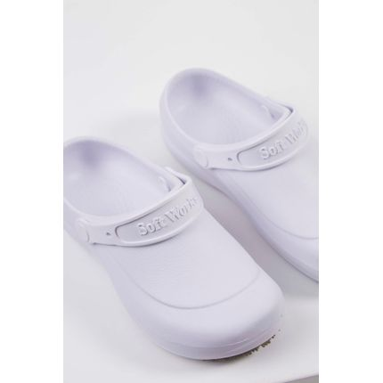 Babuche-Crocs-Soft-Walk-Branco