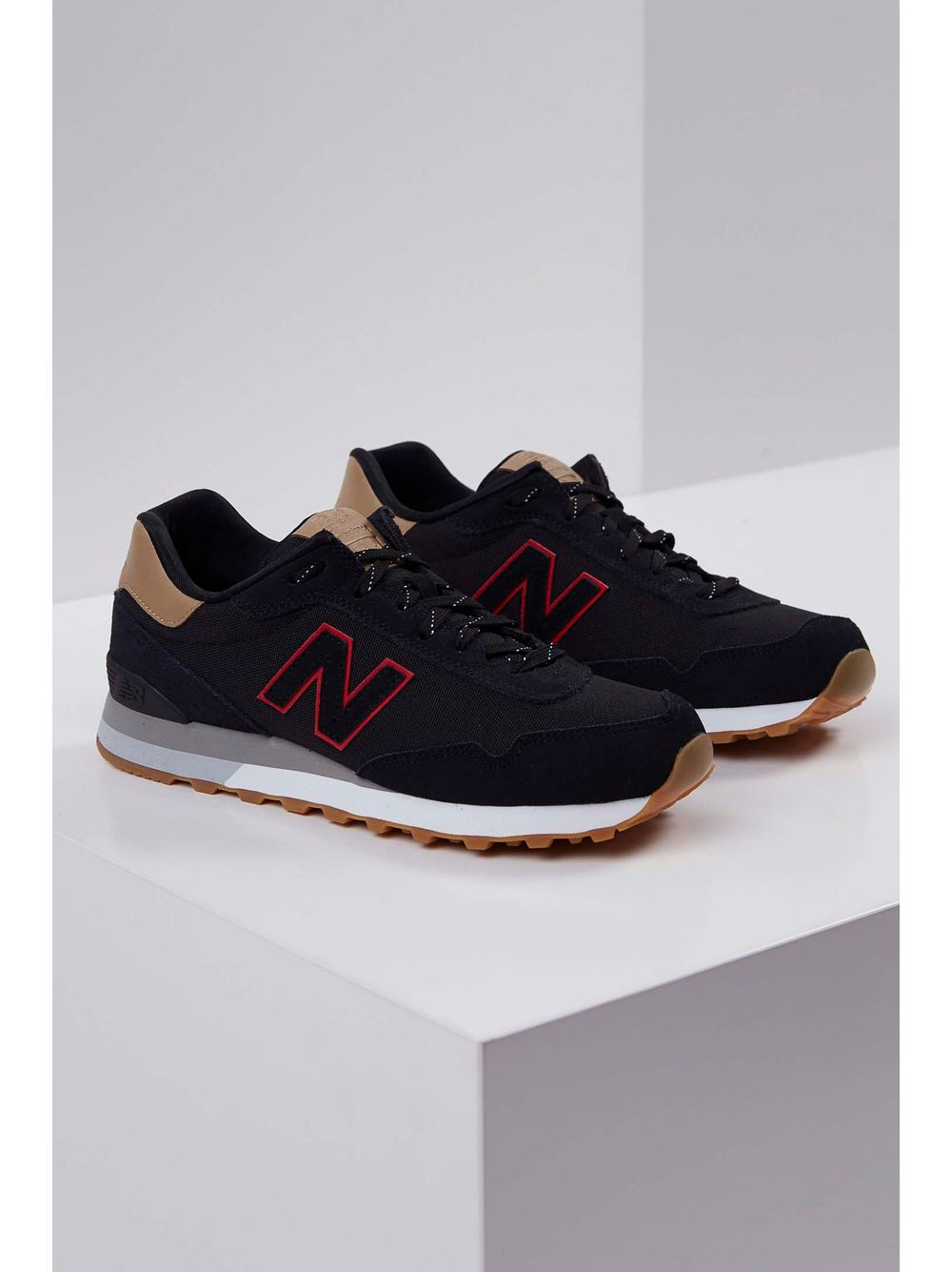 d5f0a0fba3 Tênis New Balance Ml515rfc Preto - pittol