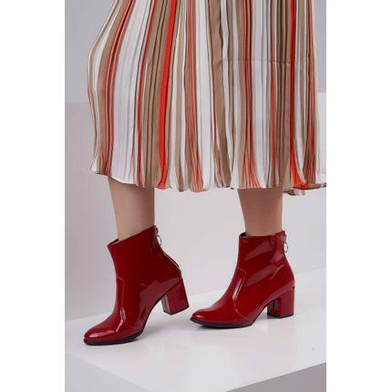 Bota-Ankle-Boots-Marina-Carvalho-Verniz-Vermelho-