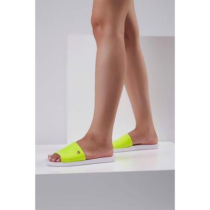 Chinelo-Slide-Feminino-Vizzano-Neon-Amarelo-