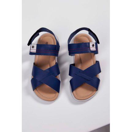 Sandalia-Infantil-Ortope-Velcro-Marinho-