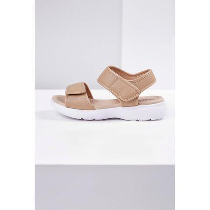 Sandalia-Papete-Modare-Velcro-Bege-