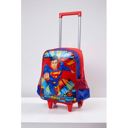 Mochila-Luxcel-Ic32882sm-Super-Homem-Azul-