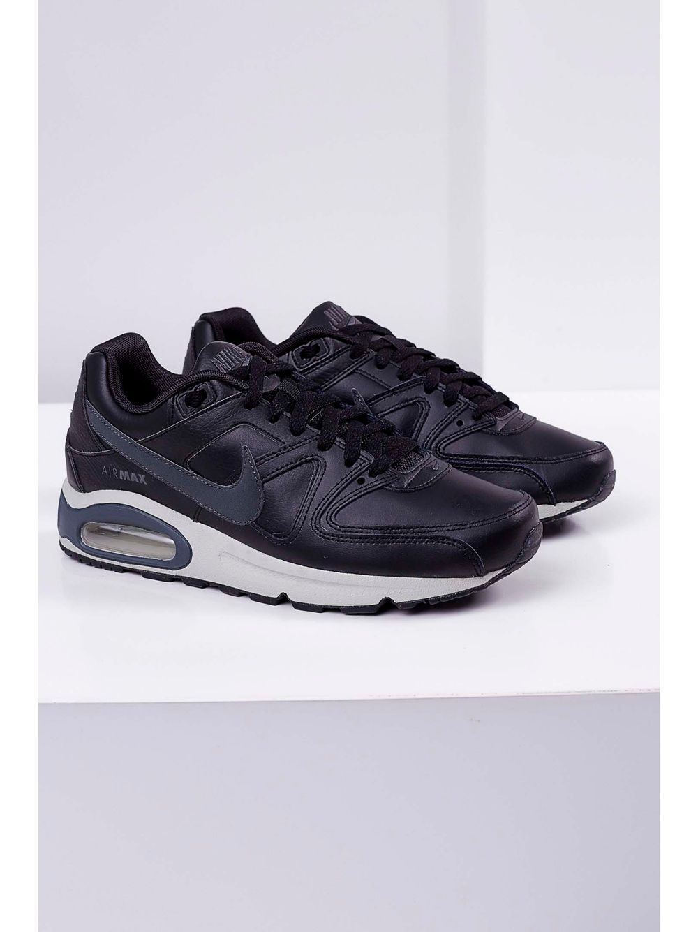 Tênis Nike Air Max Command Leather Shoe Preto - pittol 59574ee33a65e