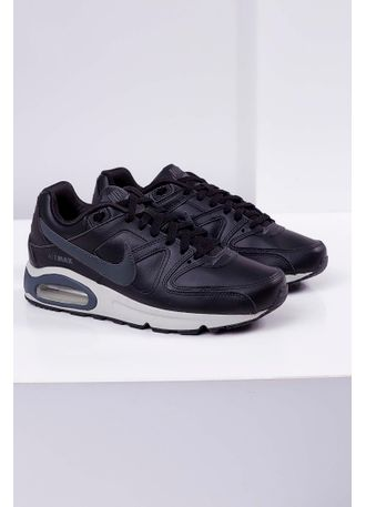 6098cf3c4 Tênis Nike Air Max Command Leather Shoe Preto - pittol