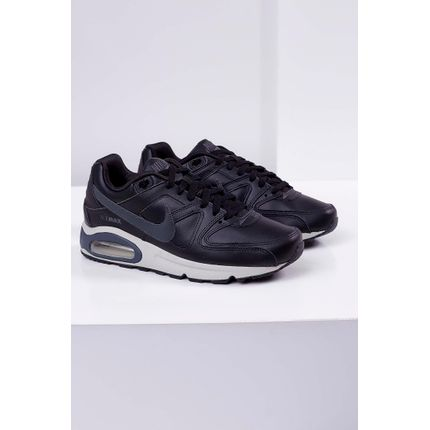 Tenis-Nike-Air-Max-Command-Leather-Shoe-Preto-