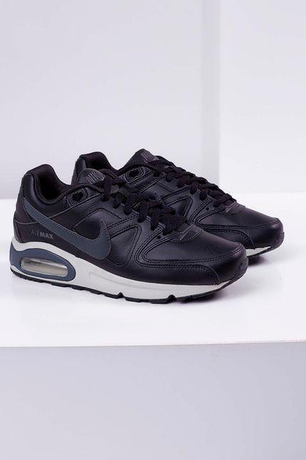 Tenis-Nike-Air-Max-Command-Leather-Shoe-Preto-