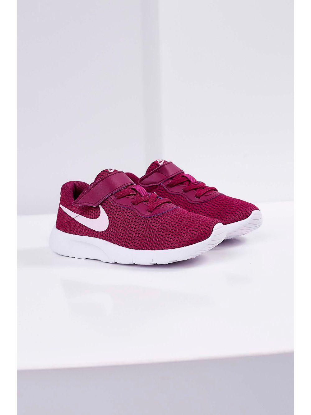 fb10377944d Tênis Infantil Nike Tanjun Psv Velcro Pink - pittol