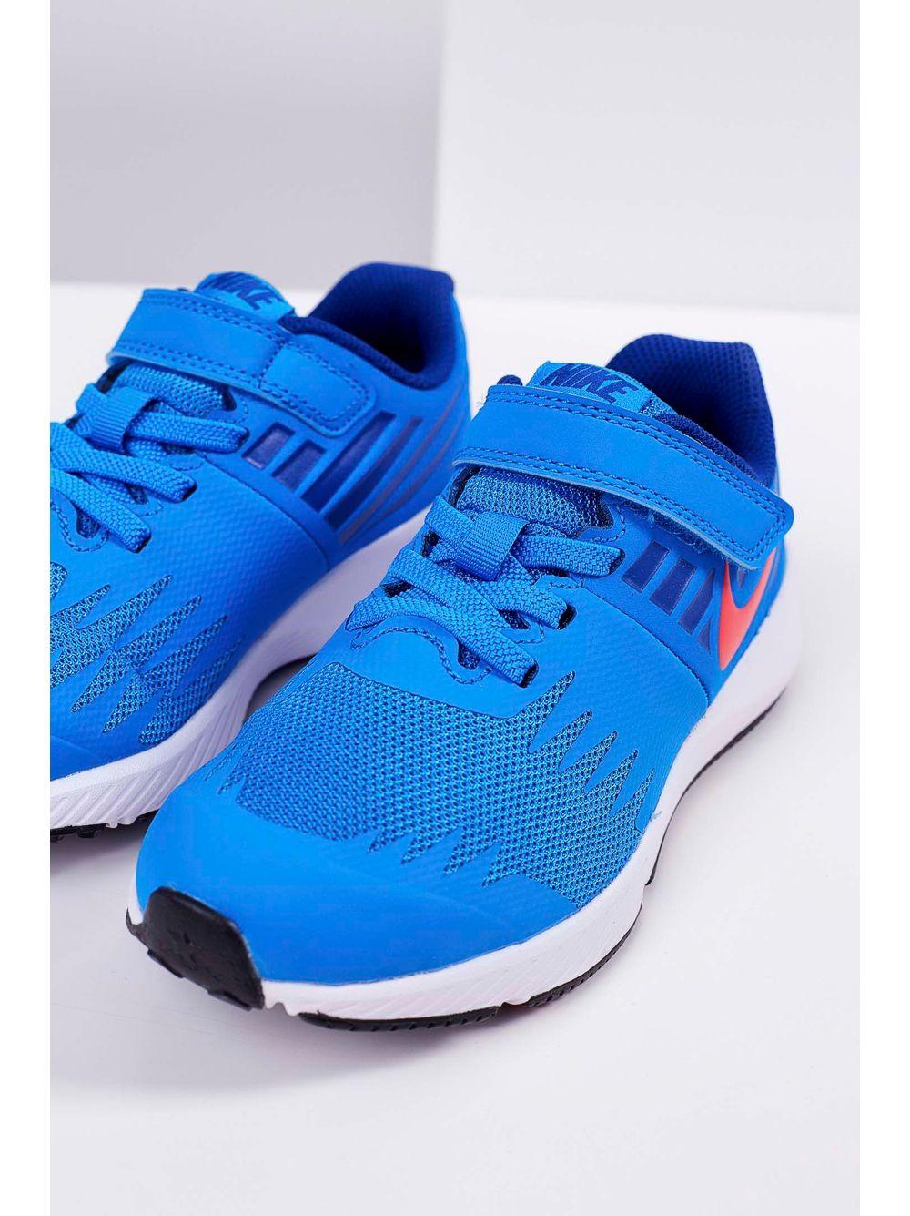 d3403800eb Tênis Infantil Nike Star Runner Velcro Azul - pittol