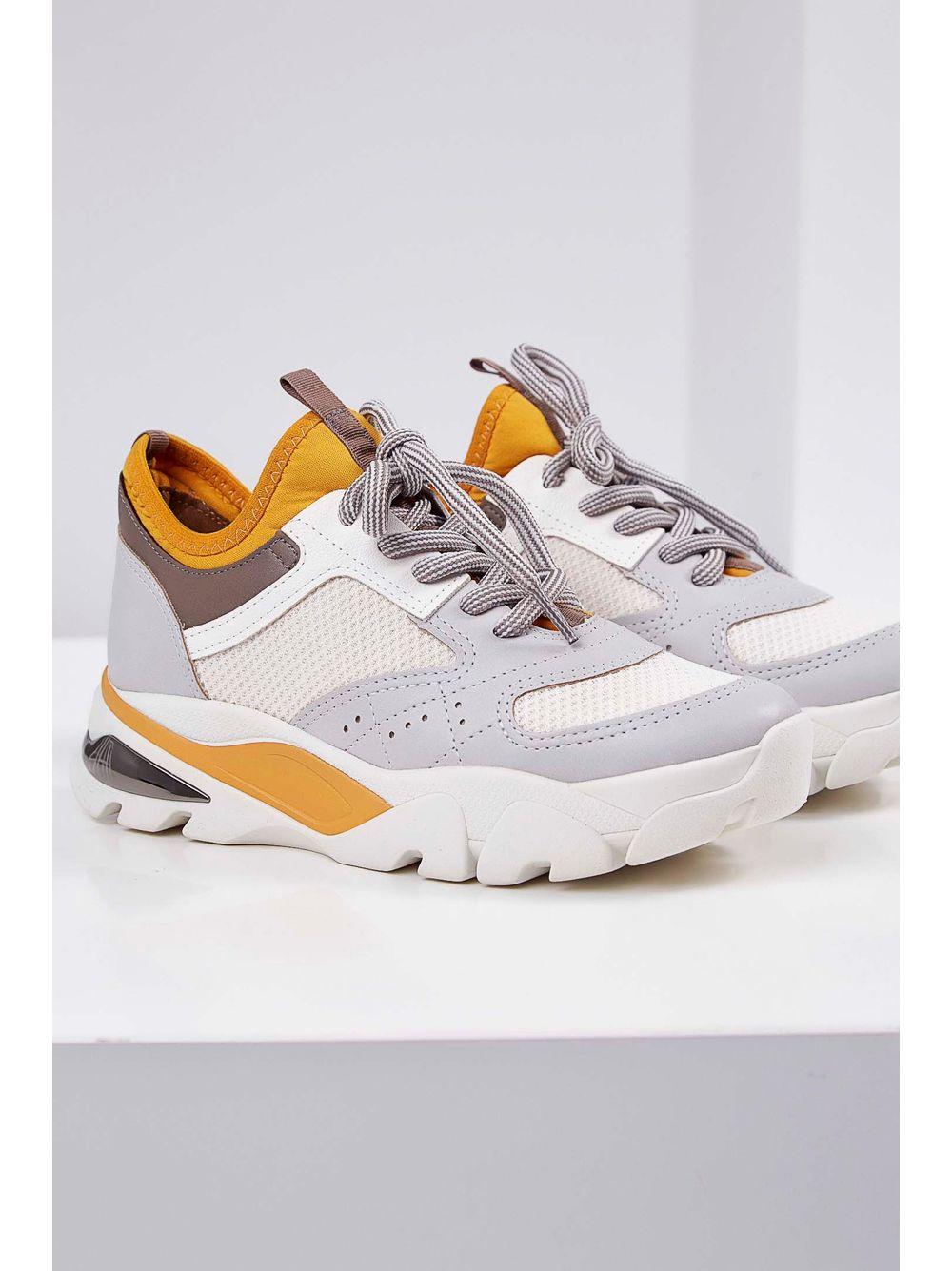 005bf65e43 Tênis Chunky Sneakers Dakota Cadarço Amarelo - pittol