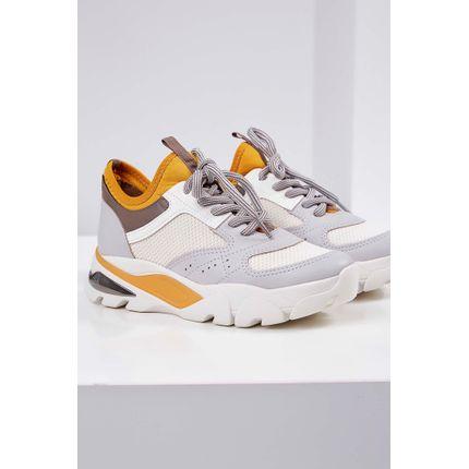 Tenis-Chunky-Sneakers-Dakota-Cadarco-Amarelo-