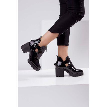 Bota-Ankle-Boot-Cha-De-Mel-Preto