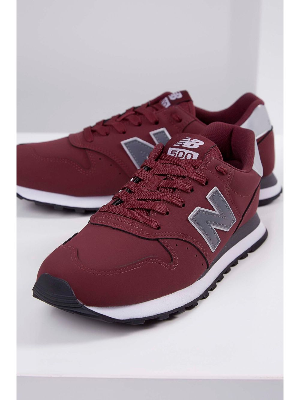 74f8c18f10a Tênis Casual New Balance Gm500brg Bordo - pittol