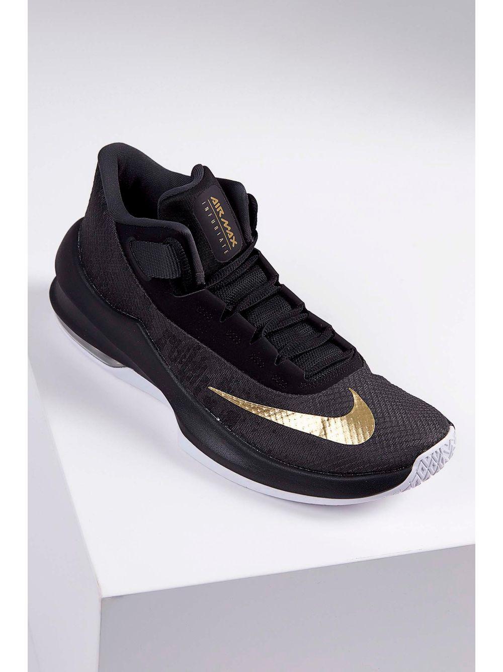 12ae9afed3 Previous. Tenis-Nike-Air-Max-Infuriate-2-Mid-Preto ...