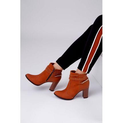 Bota-Mississipi-Ankle-Boots-Salto-Medio-Caramelo-