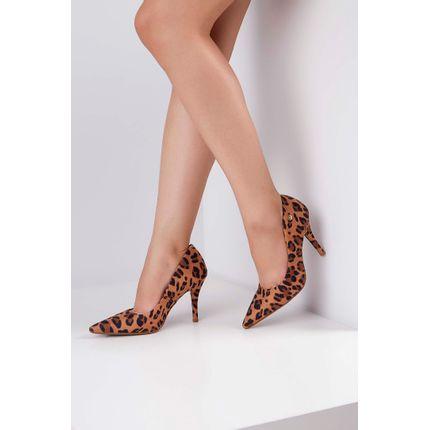 Sapato-Scarpin-Vizzano-Camurca-Animal-Print-Caramelo-