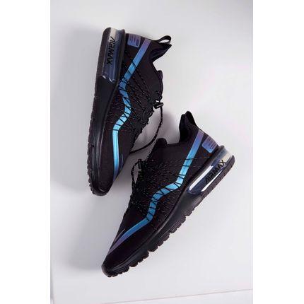 Tenis-Nike-Air-Max-Sequent-4-Preto