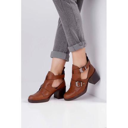 Cut-Out-Boots-Beira-Rio-Salto-Bloco-Fivela-Caramelo