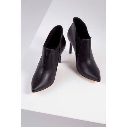Bota-Ankle-Boots-Werner-Salto-E-Bico-Fino-Couro-Preto-