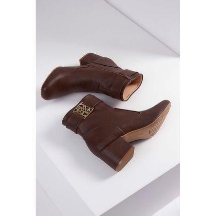 Bota-Ankle-Boot-Renata-Della-Vecchia-Salto-Baixo-Marrom-