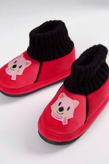 Bota-De-Inverno-Infantil-Maria-Emilia-Raposa-Pink-