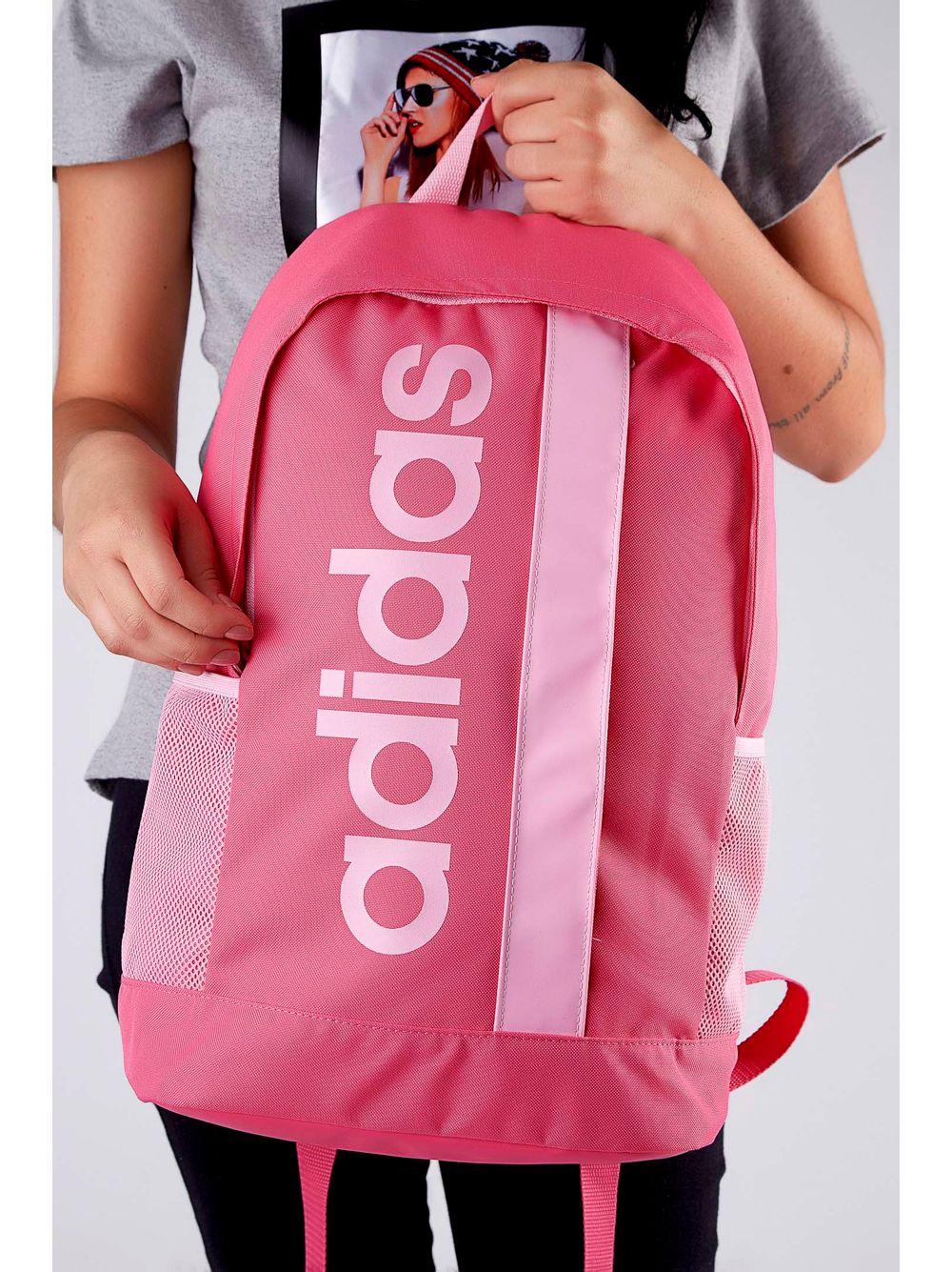 8e83d7a1a Mochila Adidas Dt8619 Linear Core Rosa - pittol