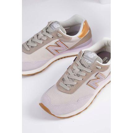 Tenis-Casual-New-Balance-515-Couro-Cinza-