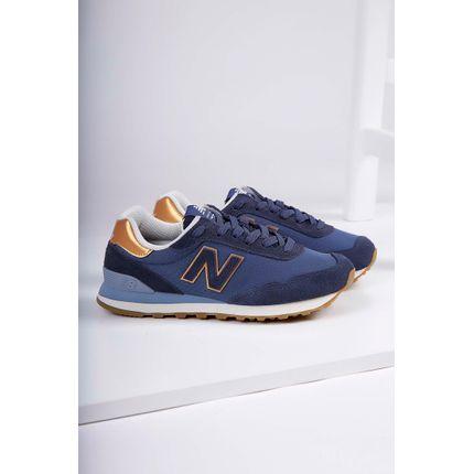 Tenis-Casual-New-Balance-515-Couro-Azul-