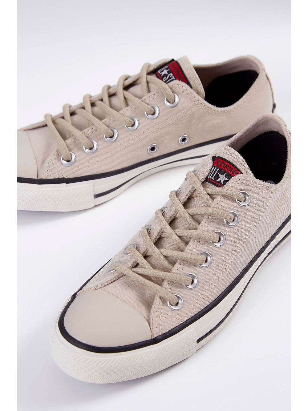 49acd8daf5f Tênis Casual Lona All Star Ct11610003 Converse Bege - pittol