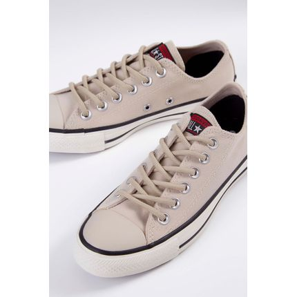 Tenis-Casual-Lona-Converse-All-Star-Bege-